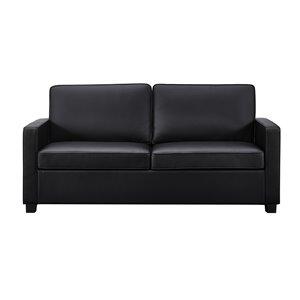 Causeuse canapé-lit Signature Sleep Casey de Dorel, double, noir