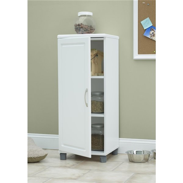 System Build Kendall Stackable Storage Cabinet - 15.38-in x 23.69-in x 38.25-in - White