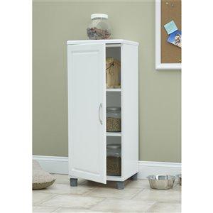 Cabinet empilable Kendall de System Build, 15,38 po x 23,69 po x 38,25 po, blanc