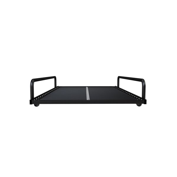 DHP Trundle for Daybed with Siderail - 71-in x 11.5-in x 45.5-in - Twin - Black