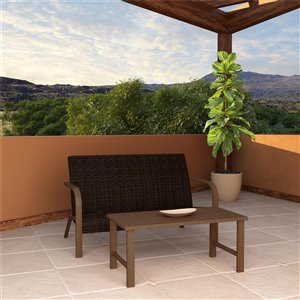 Cosco Outdoor Living SmartWick Patio Furniture Set - Gray