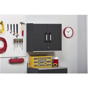 Cabinet mural Boss de System Build, 15,44 po x 21,31 po x 59,88 po, gris anthracite