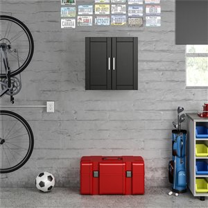 Cabinet mural Callahan de System Build, 12,44 po x 23,43 po x 23,68 po, noir