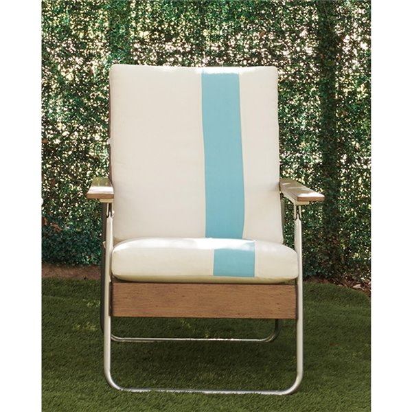 Cosco Outdoor Living Stone Lake Patio Lounge Chairs - Turquoise - 2-Pk