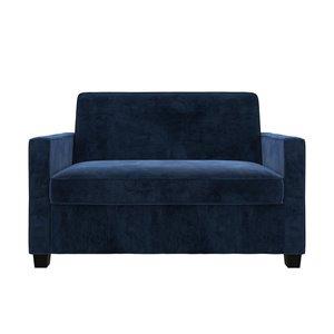 Causeuse canapé-lit Signature Sleep Casey de Dorel, simple, bleu