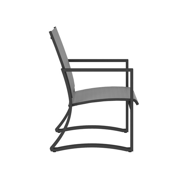 Cosco Outdoor Furniture Patio Dining Chairs - Light Gray - 6-Pk