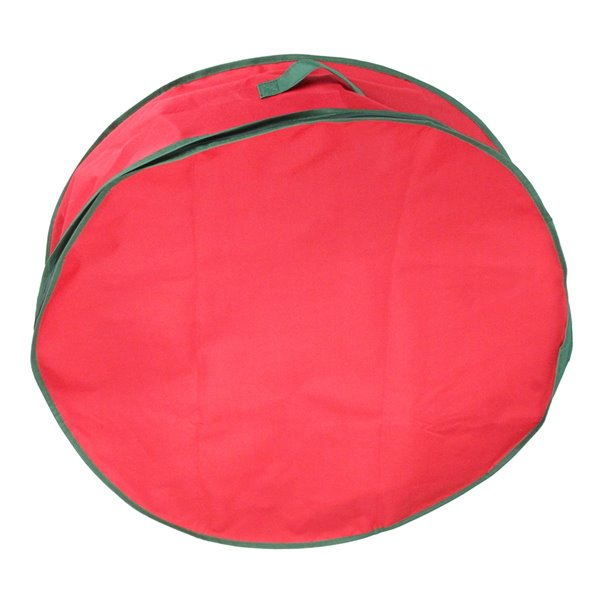 Northlight Christmas Wreath Storage Bag - 36-in - Red
