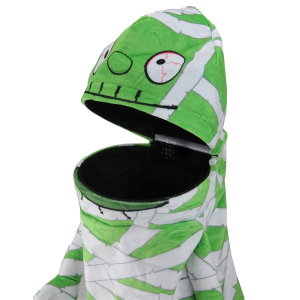 Northlight Musical Animated Mummy Unisex Child Halloween Trick or Treat Bag - 20-in