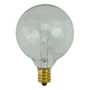 Northlight Incandescent G50 Christmas Replacement Bulbs - Clear - Pack of 25