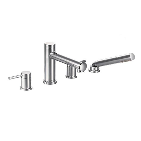 Moen Align Diverter Roman Tub Faucet with Hand Shower - Chrome