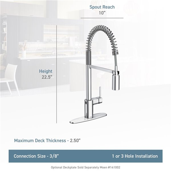 Moen Align Pulldown Kitchen Faucet - Stainless