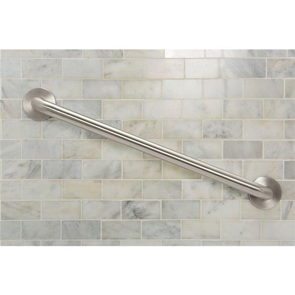 Moen Concealed Screw Bathroom Grab Bar - 18-in - Stainless