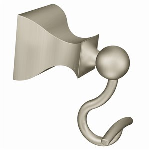 Moen Retreat Single Robe Hook - Brushed Nickel