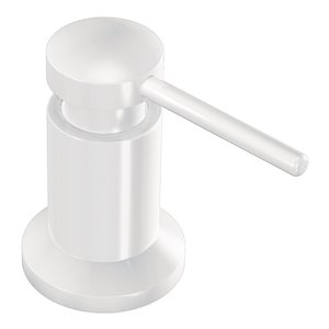 Moen Glacier Soap Dispenser - 18 Ounce - White