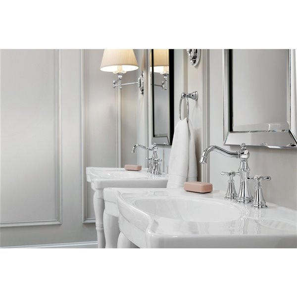 Moen Weymouth Two-Handle Faucet - Chrome