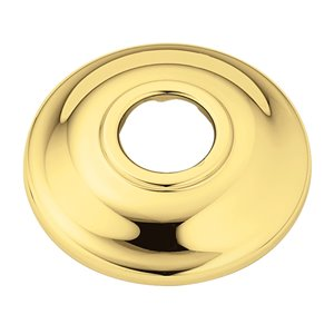 Polished Brass Shower Arm Flange
