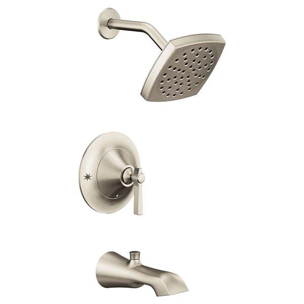Moen Flara Posi-Temp Tub/Shower Facuet - Brushed Nickel