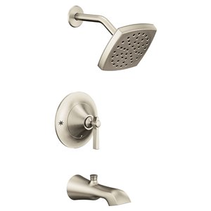 Moen Flara Posi-Temp Tub/Shower Facuet - Brushed Nickel