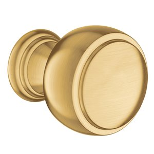 Moen Weymouth Drawer Knob - Brushed Gold