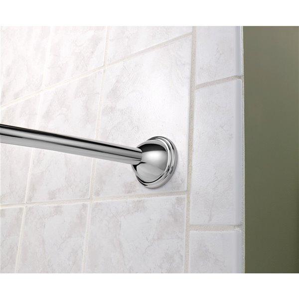 Moen Curved Adjustable Shower Rod - Chrome
