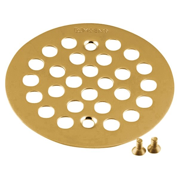 Moen Tub/Shower Drain Cover - Brushed Gold