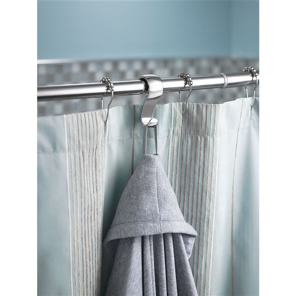 Moen Shower Curtain Rings - 12-Pack - Chrome
