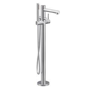 Remplisseur de baignoire avec douche à main Align de Moen, chrome