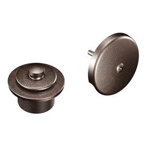 Couvre-drain de douche/baignoire de Moen, bronze huilé