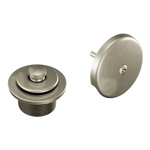 Moen Tub/Shower Drain Cover - Brushed Nickel