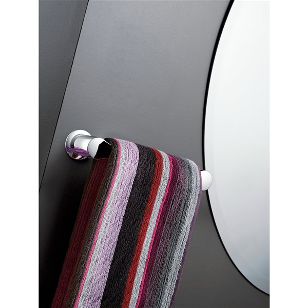 "Moen Method Bathroom Hand Towel Bar - 9"" - Brushed Nickel"