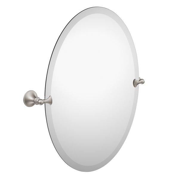 Miroir Glenshire de Moen, nickel brossé
