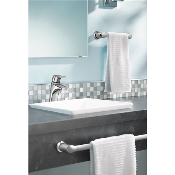"Moen Method Bathroom Hand Towel Bar - 9"" - Chrome"