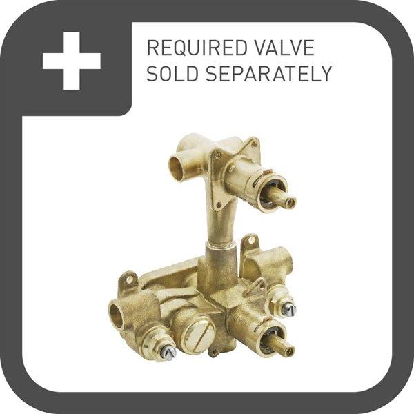 Moen Rothbury Moentrol with Transfer Valve Trim - Oil Rubbed Bronze