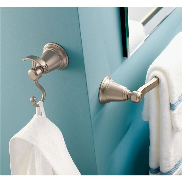 Moen Rothbury Double Robe Hook - Chrome