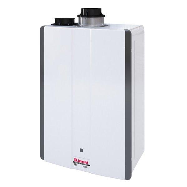 Chauffe-eau sans réservoir à haut-rendement Rinnai  -160k Btu 7.5gpm
