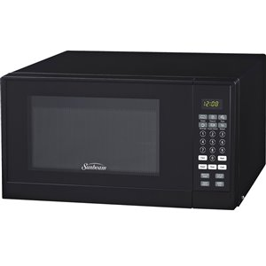 Sunbeam 0.9 cu. Ft. 900 watts Counterop Microwave (Black)