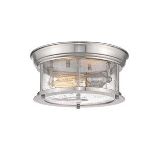 Plafonnier Sonna de Z-Lite à 2 ampoules, 11 po x 11 po