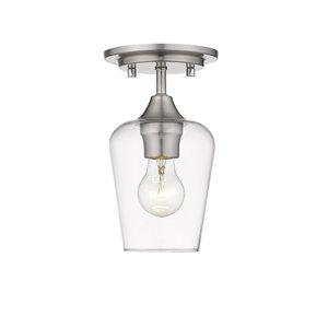 Plafonnier Joliet de Z-Lite à 1 Ampoule, 5,5 po x 5,5 po