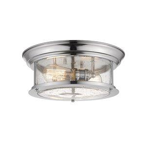 Plafonnier Sonna de Z-Lite à 2 ampoules, 13,5 po x 13,5 po