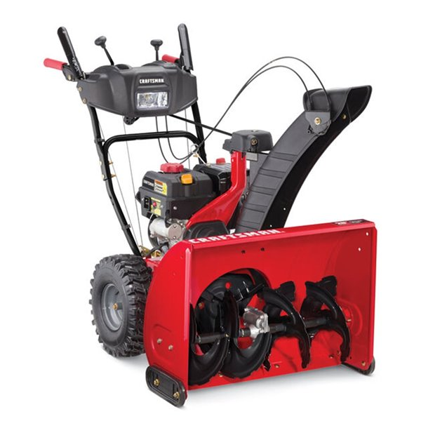 Craftsman 28-inch 243cc Two Stage Snowblower with Electric Start