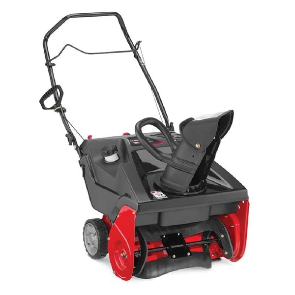 Craftsman 21-inch 123cc Single Stage Snowblower with Electric Start
