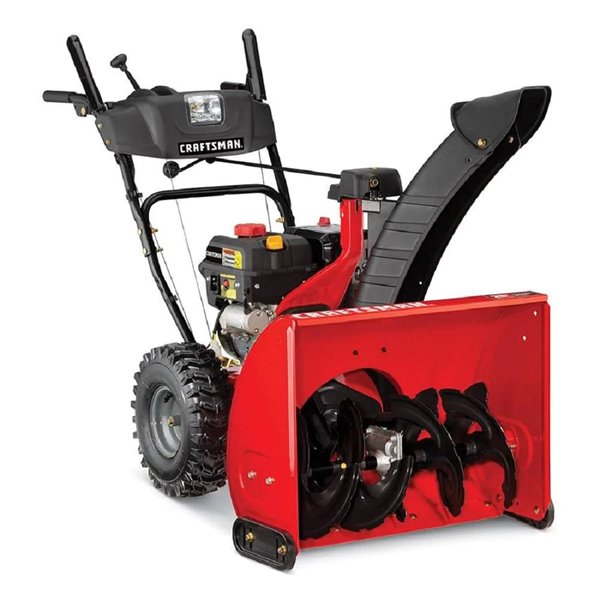 Craftsman 26-inch 208cc Two Stage Snowblower with Electric Start