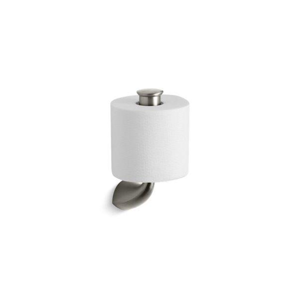 KOHLER K-37056 Alteo Vertical Toilet Tissue Holder - Brushed Nickel
