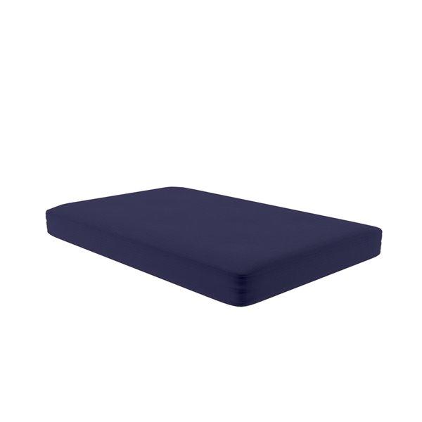 Dorel Futon Mattress Slipcover - Blue