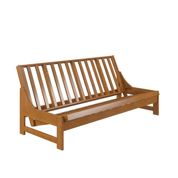 Dorel Concord Armless All Wood Futon Frame - 76-in x 38-in