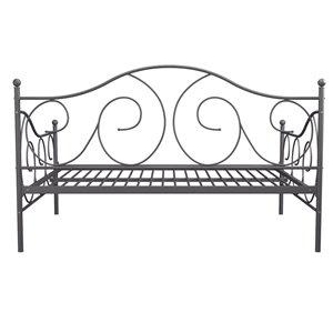 Canapé-lit avec rangement Victoria de DHP, gris