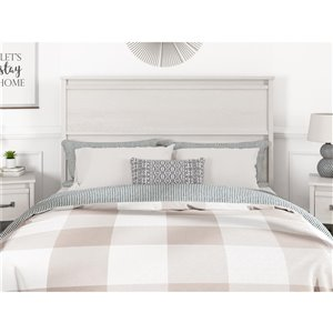 Ameriwood Bassinger Headboard - Queen - Ivory Oak