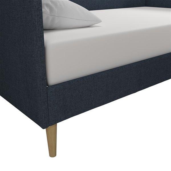 Canapé-lit Franklin de DHP, bleu