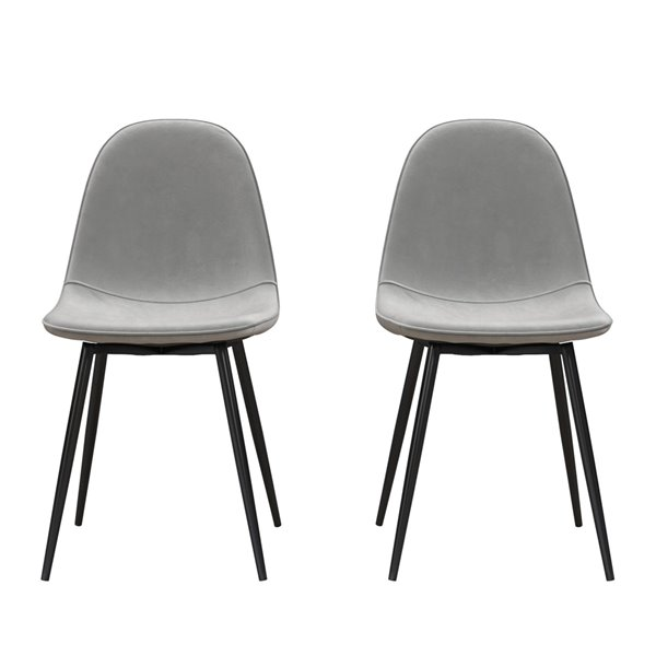 Calvin Upholstered Dining Chair (Set of 2)
