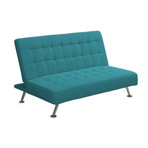 Canapé lit pour enfants Milo de Dorel, 46 po x 28,5 po, bleu